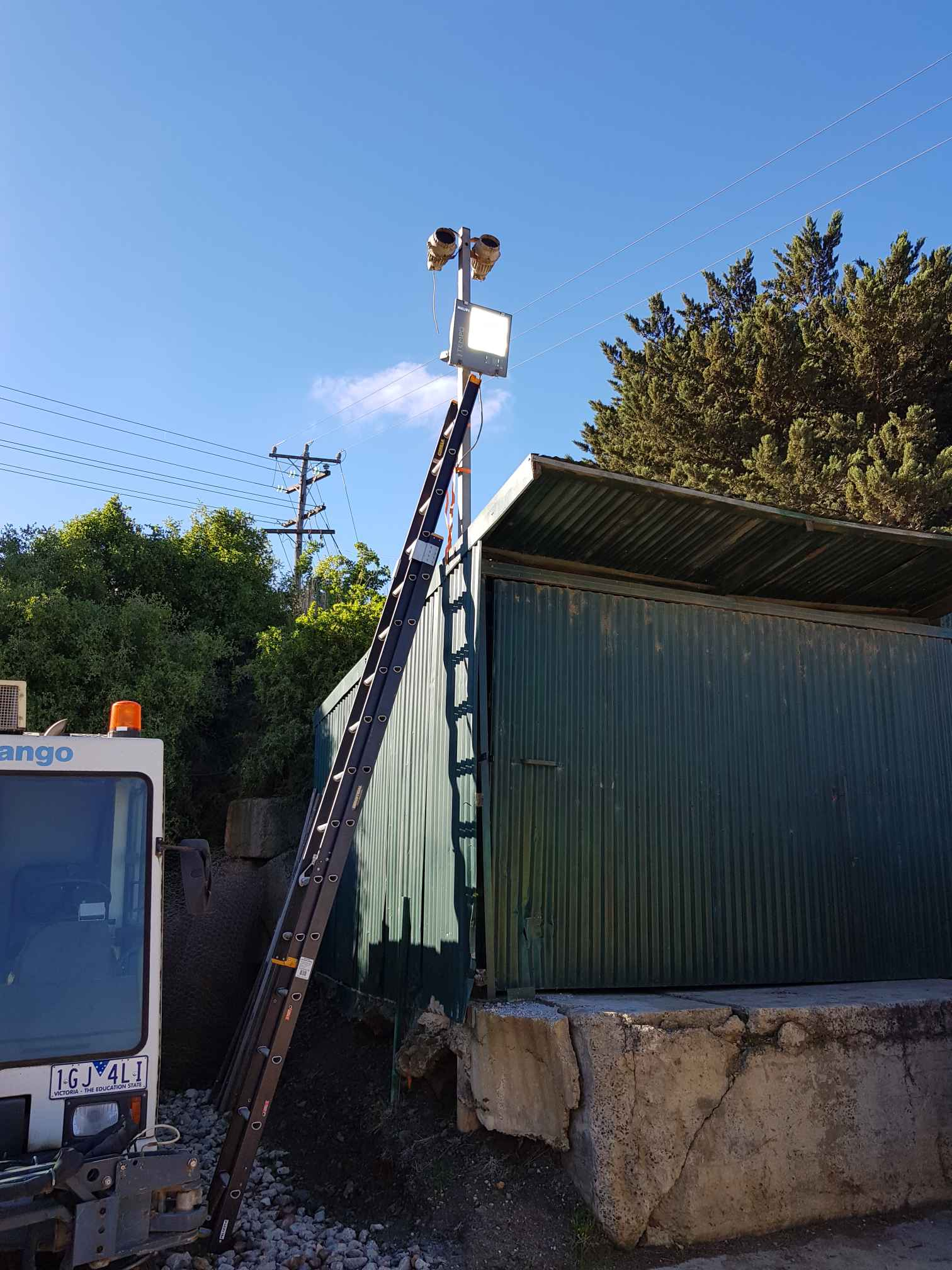 Electrical Installation - Lighting at Fyansford By Mr. Electric of Geelong via i4Tradies