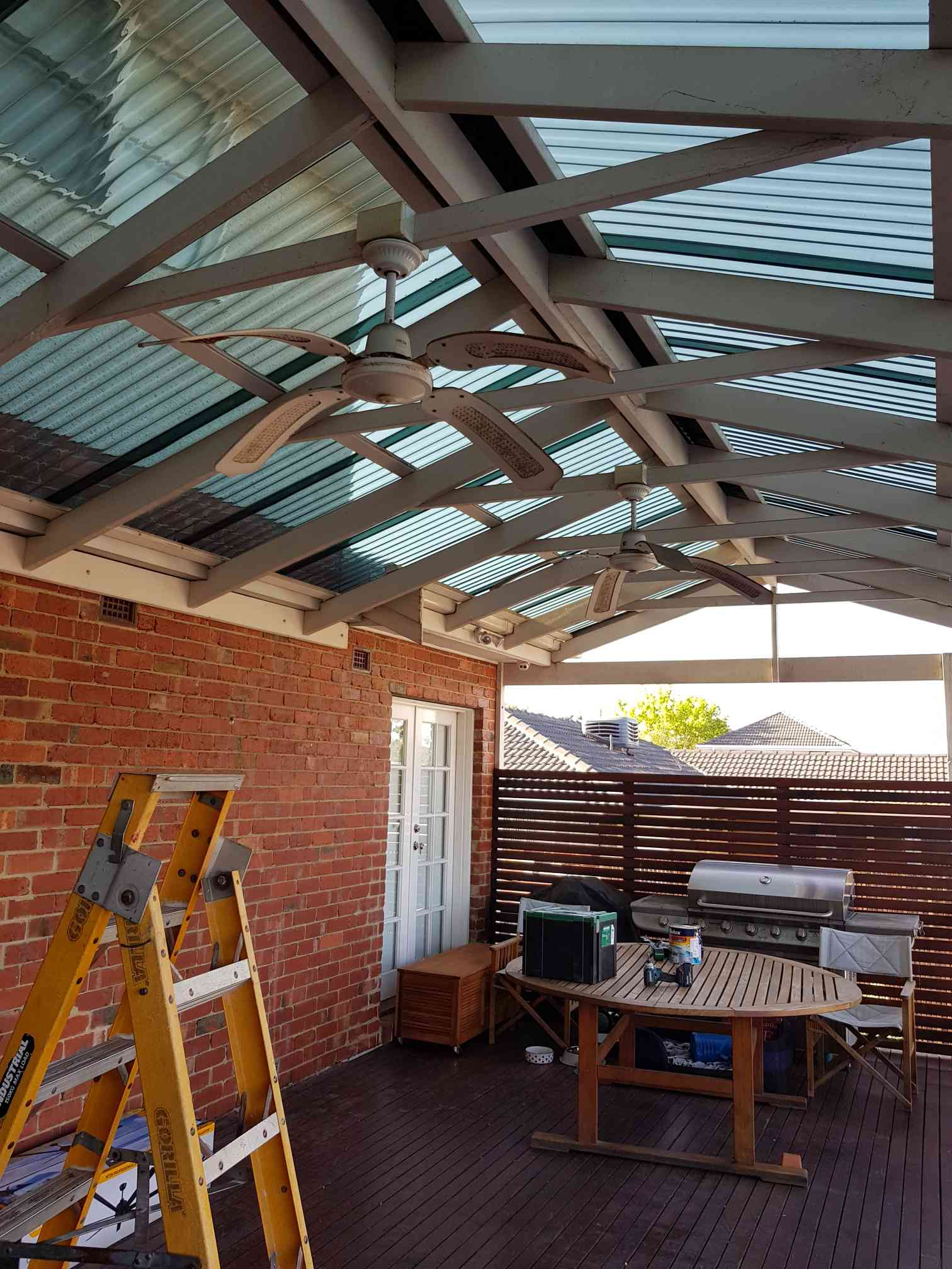 Alfresco Fan Installation at Heidelberg By MRENA Service Solutions via i4Tradies