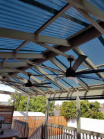 Alfresco Fan Installation - Heidelberg By MRENA Service Solutions via i4Tradies
