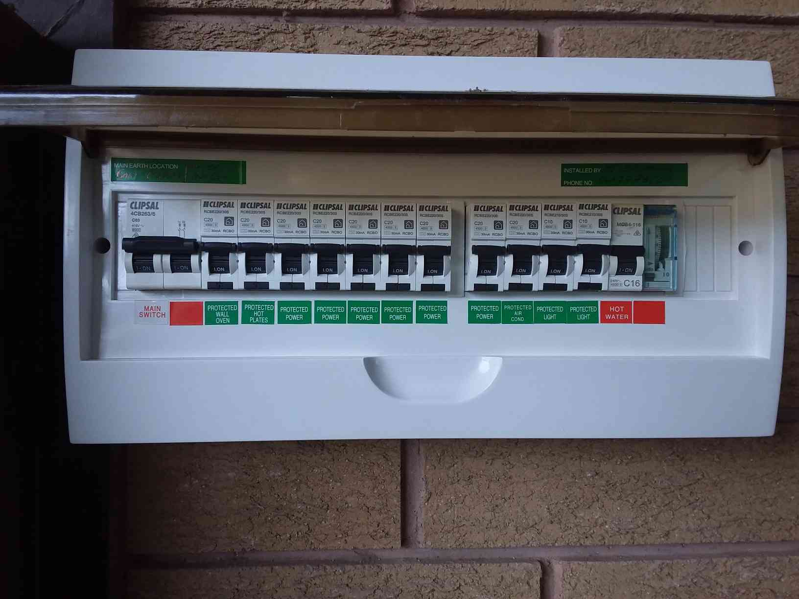 Switchboard upgrade at Carngham By MJ Electrical & Solar via i4Tradies