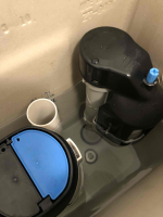 Rectifying flush system in cistern at Moonee Ponds By P.A.D Plumbing & Maintenance Pty Ltd via i4Tradies